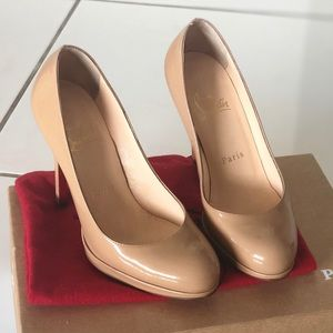Christian Louboutin New Simple Pump 120 Size 34